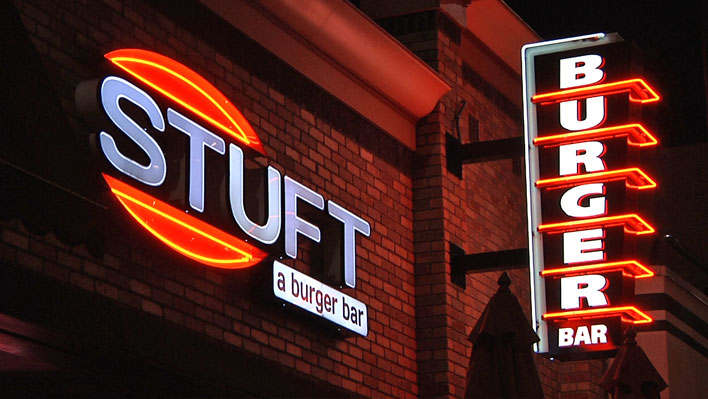 Neon restaurant signs Roswell GA