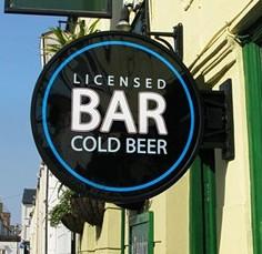 Bar signs Norcross GA