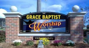 led church sign